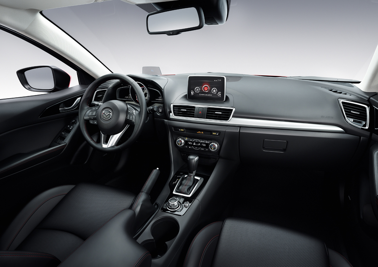 MAZDA UNVEILS ALL-NEW 2014 MAZDA3 VIA CONCURRENT INTERNATIONAL EVENTS