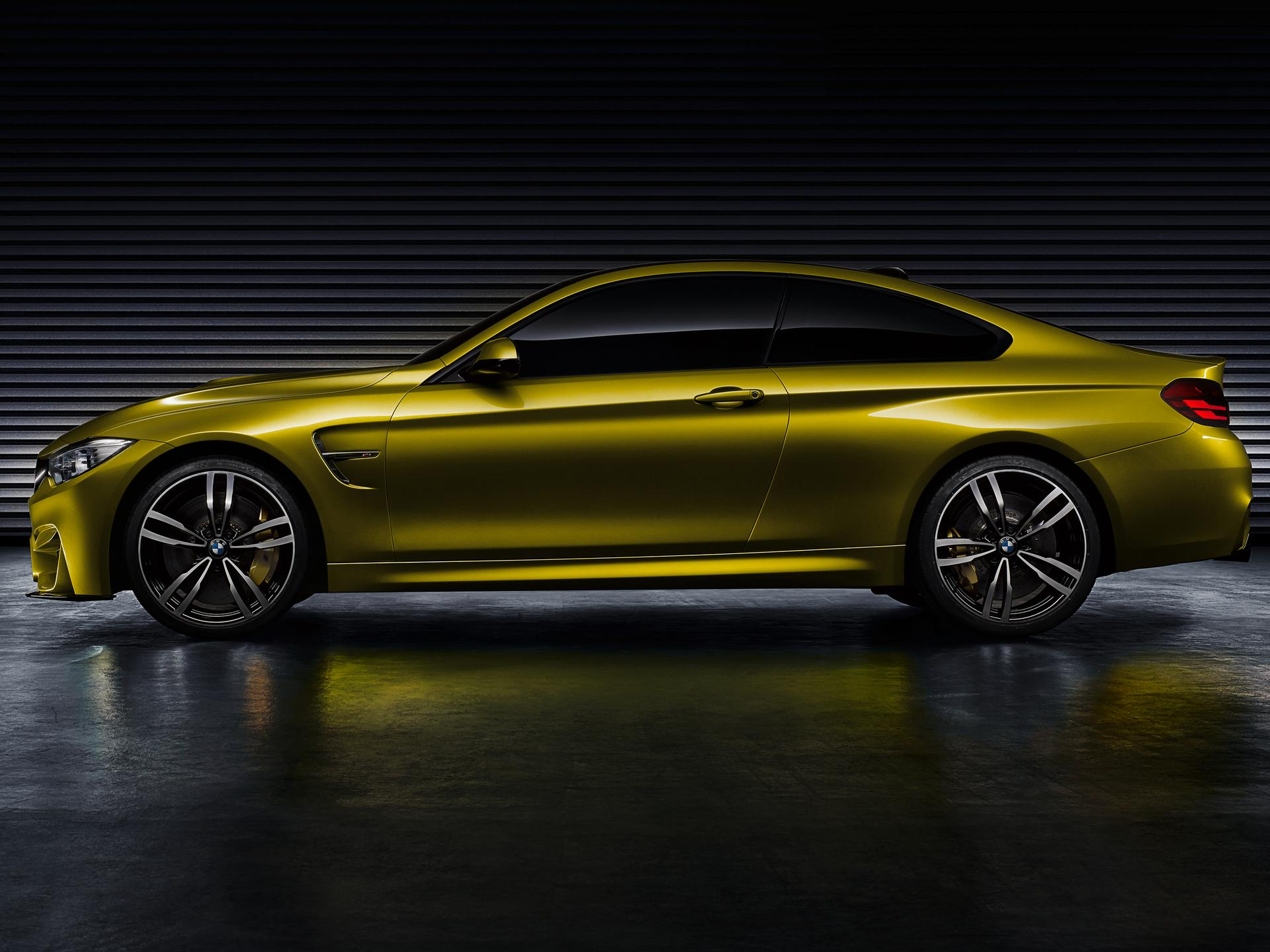 bmw m4 profile