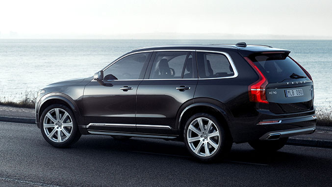 Preview 2015 Volvo Xc90 Winding Road