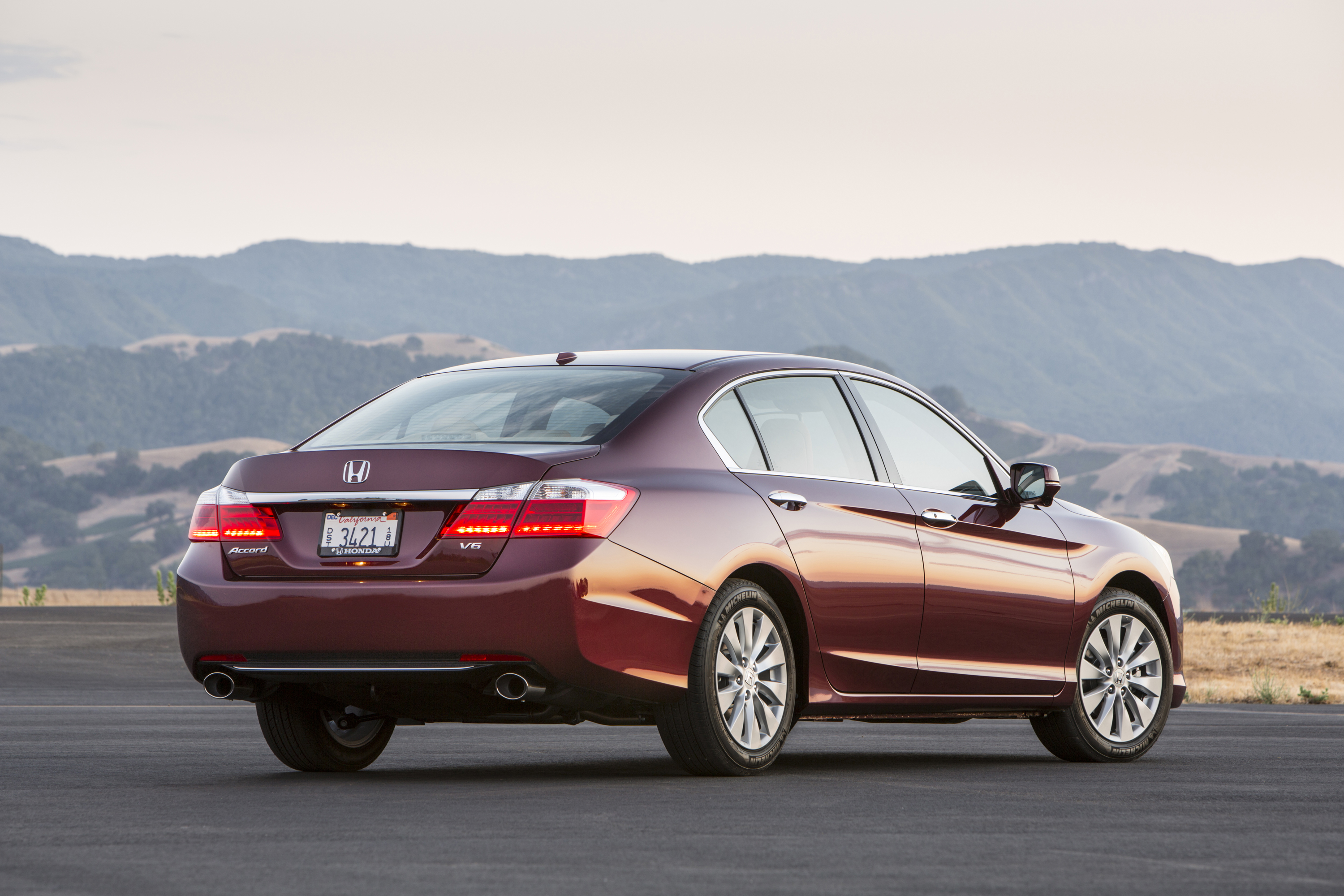 driven 2013 honda accord sedan winding road
