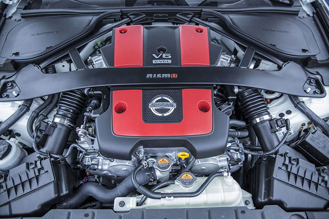 Nissan Has Also Retuned The Suspension System, Which Includes A  Nismo Emblazoned Strut Tower Bar And A New Pair Of Performance Of Dampers  To Go Along With ...