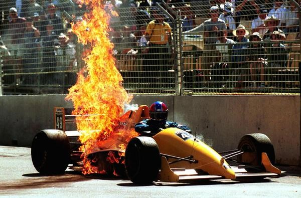 Racing Fire Suits >> Understanding The Basics of Auto Racing Safety Equipment - Winding Road