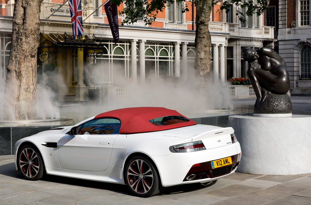 First Look: 2013 Aston Martin V12 Vantage Roadster