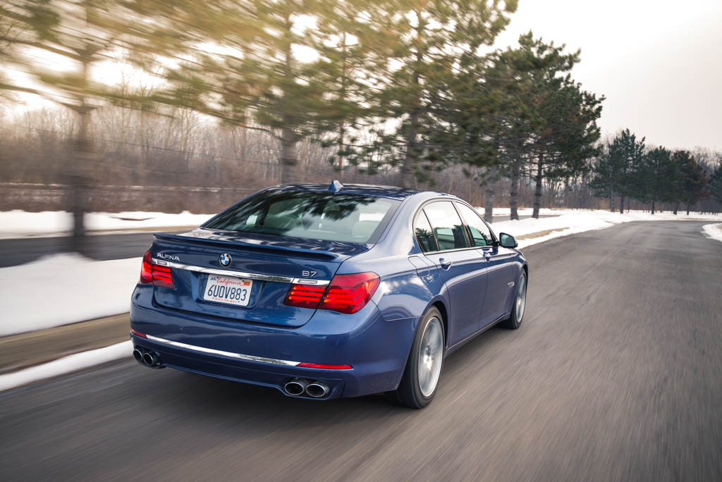 Driven: 2013 BMW Alpina B7 xDrive - Winding Road