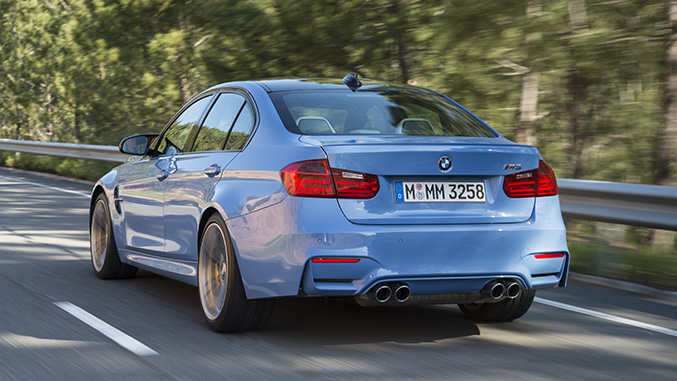Driven BMW M And M Winding Road - 2015 bmw m3 sedan price