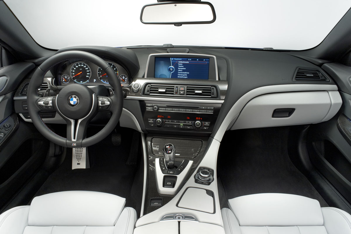 2012 BMW M6 Convertible - Interior