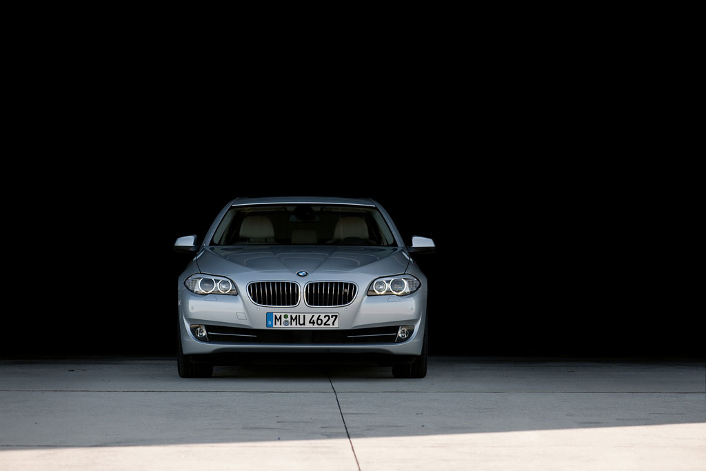 2012 BMW 535i Frontend
