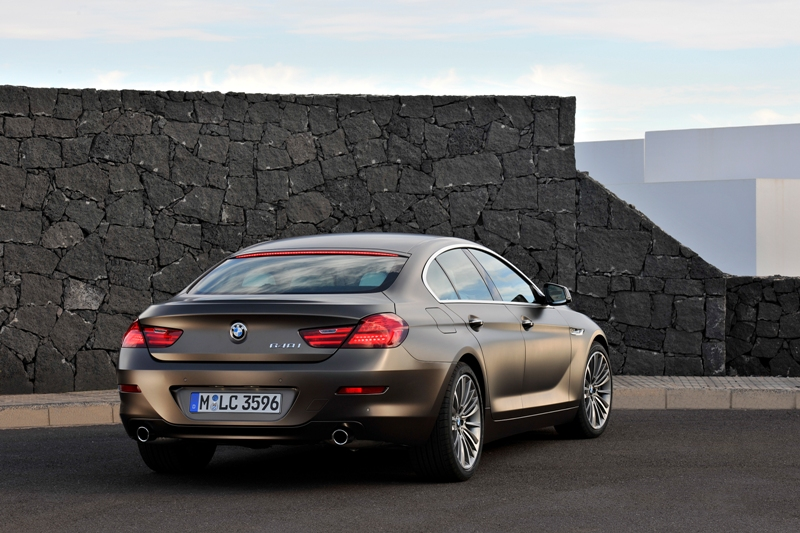 BMW 640i Gran Coupe Rear Picture