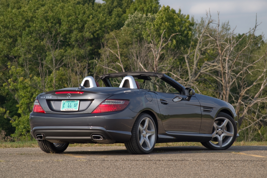Quick Drive 2013 Mercedes Benz Slk350 Winding Road