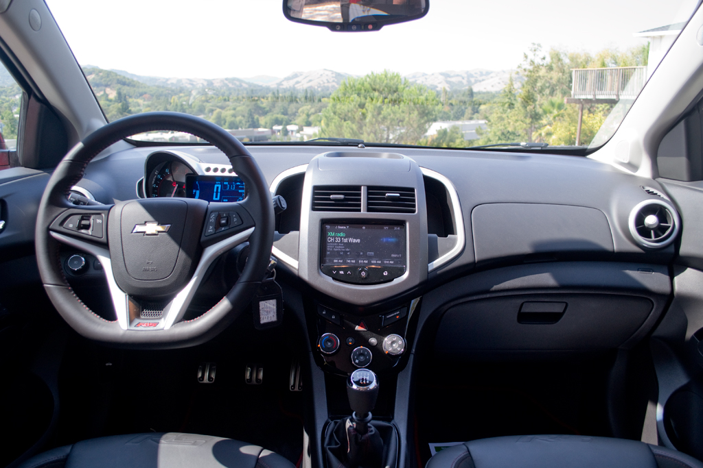 Driven: 2013 Chevrolet Sonic RS