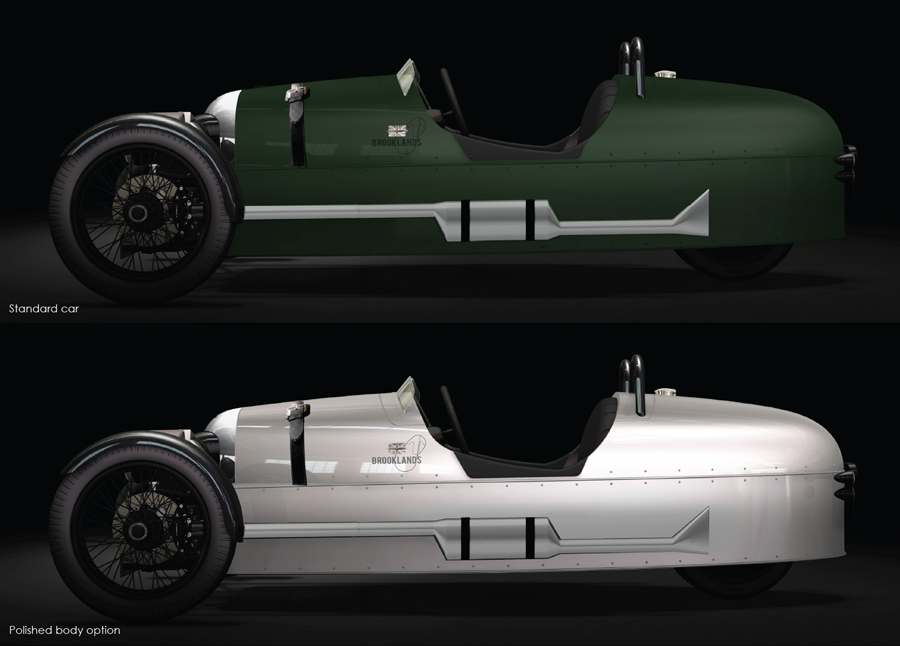 morgan 3-wheeler brooklands edition