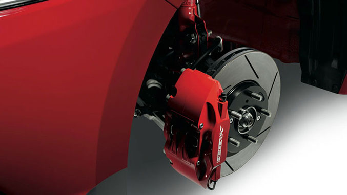 Braking Also Gets Attention Here Too And Now Sports A Four Piston Moloc Calipers Up With Slotted Discs Front While The In Rear Remains